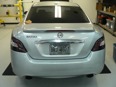 Custom Black Out Tail Light tinting Film For cars and Trucks In Atlanta