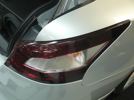 Custom Black Out Tail Light tinting Film For cars and Trucks