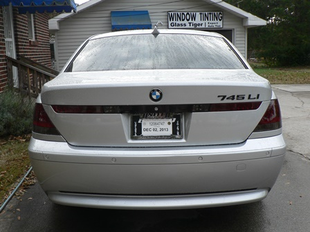 bmw tinted tail light film