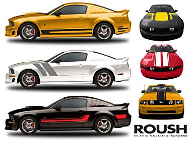 Mustang Factory Graphics